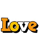 Love cartoon logo