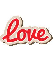 Love chocolate logo