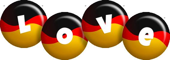 Love german logo