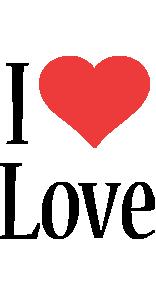 Love i-love logo