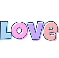 Love pastel logo