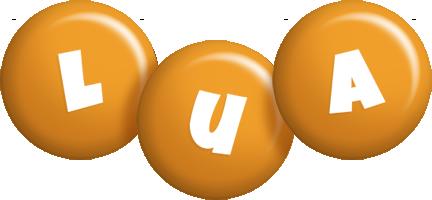 Lua candy-orange logo