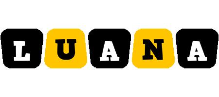 Luana boots logo