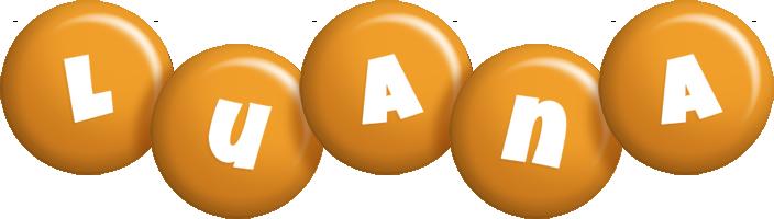 Luana candy-orange logo