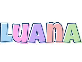 Luana pastel logo