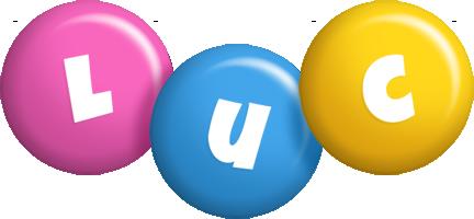 Luc candy logo