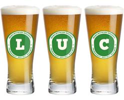 Luc lager logo