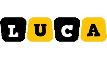 Luca boots logo