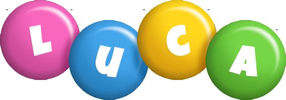Luca candy logo