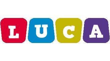 Luca daycare logo