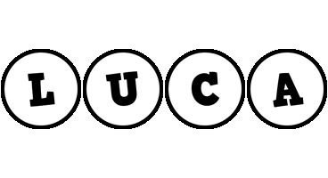 Luca handy logo