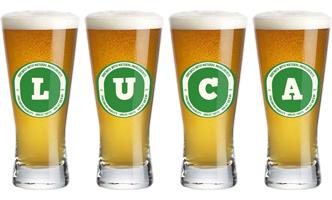 Luca lager logo