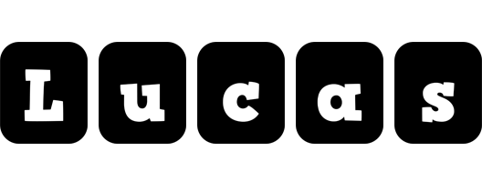 Lucas box logo