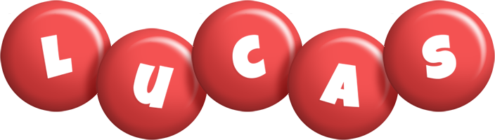 Lucas candy-red logo