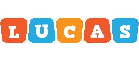Lucas comics logo