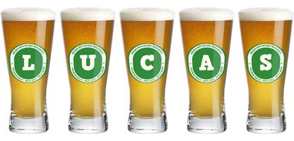 Lucas lager logo