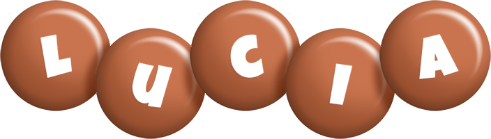 Lucia candy-brown logo