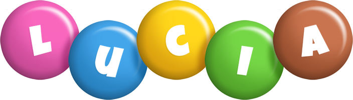 Lucia candy logo