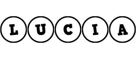Lucia handy logo