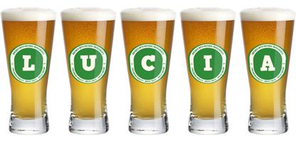 Lucia lager logo