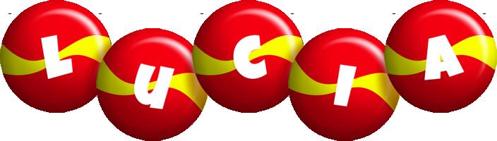 Lucia spain logo
