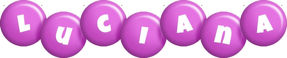 Luciana candy-purple logo