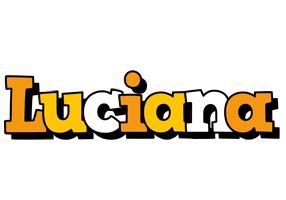 Luciana cartoon logo
