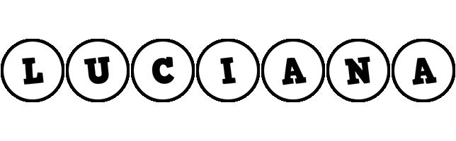 Luciana handy logo