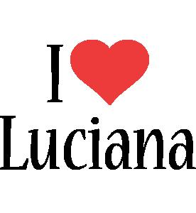 Luciana i-love logo