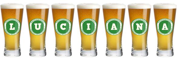 Luciana lager logo