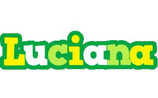 Luciana soccer logo