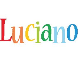 Luciano birthday logo