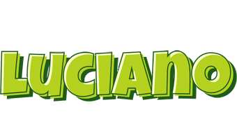 Luciano summer logo