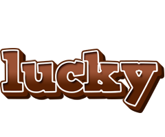 Lucky brownie logo