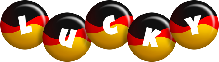 Lucky german logo