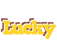 Lucky hotcup logo