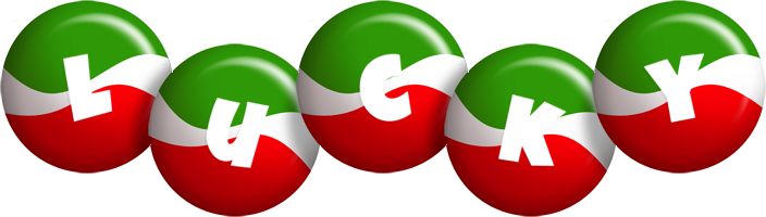 Lucky italy logo