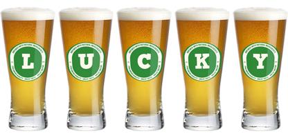Lucky lager logo