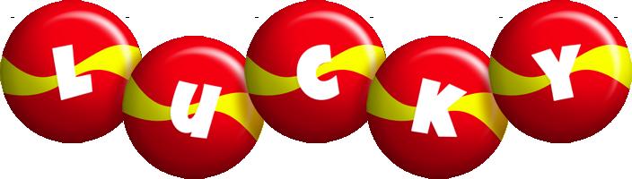 Lucky spain logo