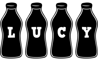Lucy bottle logo