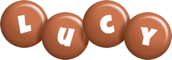 Lucy candy-brown logo