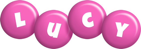 Lucy candy-pink logo