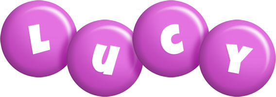Lucy candy-purple logo