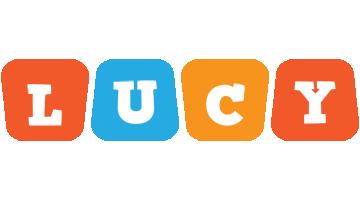 Lucy comics logo