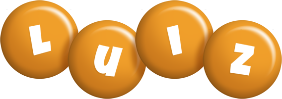 Luiz candy-orange logo
