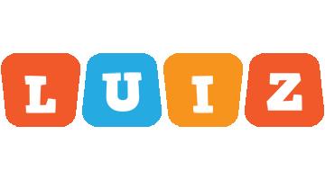 Luiz comics logo