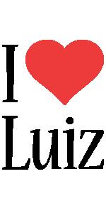 Luiz i-love logo