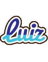 Luiz raining logo