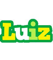 Luiz soccer logo