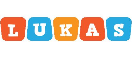 Lukas comics logo